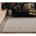 Aran luxury plain wool rugs - Extra Large