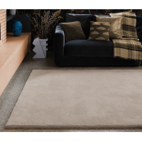 Aran luxury plain wool rugs - Medium