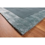 Ascot wool with Viscose Border rugs - Small 80cm X 150cm