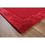 Ascot wool with Viscose Border rugs - Large 160cm X 230cm