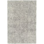 Camden wool with rayon loop rug - medium 120cm x 170cm