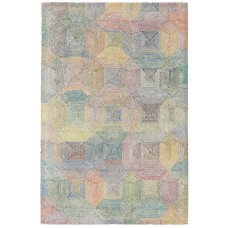 Camden wool with rayon loop rug - large 160cm x 230cm