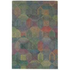 Camden wool with rayon loop rug - extra large 200cm x 300cm