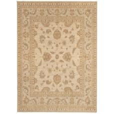 Chobi machine woven handwashed wool rug - large 164cm x 230cm