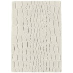 Croc carved wool rugs - Medium 160cm x 200cm