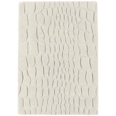 Croc carved wool rugs - Small 120cm X 180cm