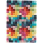 Funk multi boxes wool tuft rug - medium 120cm x 170cm
