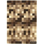 Funk multi boxes wool tuft rug - large 140cm x 200cm
