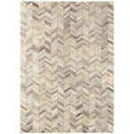Gaucho cowhide patchwork rug - Medium 120cm x 170cm
