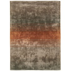 Holborn viscose striped rug - Large 160cm x 230cm