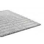 Ives chenille jute flatweave rug - medium 100cm x 150cm