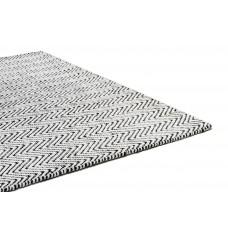 Ives chenille jute flatweave rug - large 160cm x 230cm