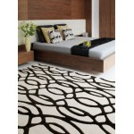 Matrix wool tufted designs - wire - small 80cm x 150cm