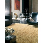 Metallica shiny polyester shaggy rug -Medium 120cm x 180cm