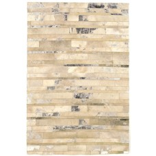 Rodeo Design metallic leather rugs - large 160cm x 230cm