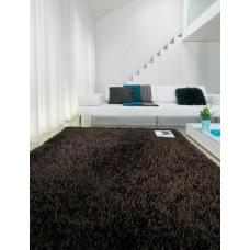 Sparkle shiny polyester shaggy rug - Small 90cm x 150cm