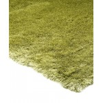 Whisper shiny fine polyester shaggy rug - Small 65cm x 135cm