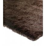 Whisper shiny fine polyester shaggy rug - Small 90cm x 150cm