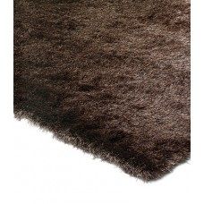 Whisper shiny fine polyester shaggy rug - Small 90cm x 150cm