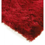 Whisper shiny fine polyester shaggy rug - Medium 120cm x 180cm