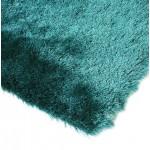 Whisper shiny fine polyester shaggy rug - large 160cm x 230cm